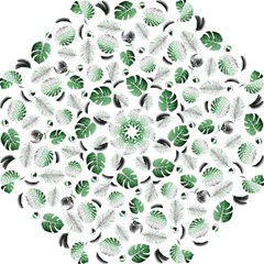 Tropical Pattern Folding Umbrellas by Valentinaart