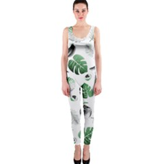 Tropical Pattern Onepiece Catsuit by Valentinaart