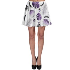 Tropical Pattern Skater Skirt by Valentinaart