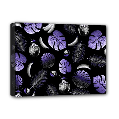 Tropical Pattern Deluxe Canvas 16  X 12   by Valentinaart