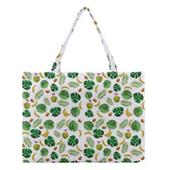 Tropical Pattern Medium Tote Bag by Valentinaart