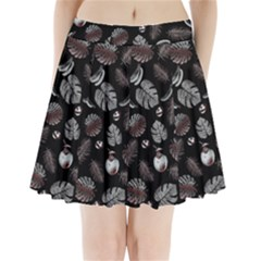 Tropical Pattern Pleated Mini Skirt by Valentinaart