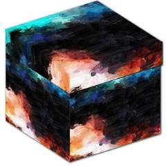 Paint Strokes And Splashes              Storage Stool by LalyLauraFLM