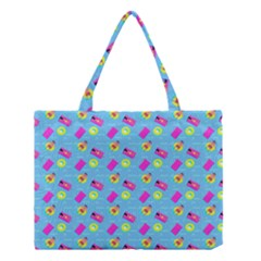 Summer Pattern Medium Tote Bag by ValentinaDesign