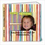 Kalena s preschool - 8x8 Photo Book (30 pages)