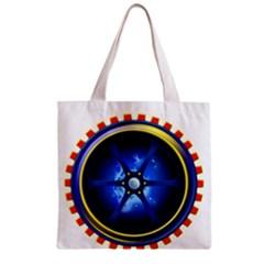 Power Core Zipper Grocery Tote Bag