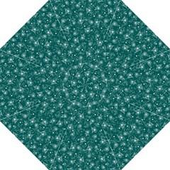 Floral Pattern Straight Umbrellas by ValentinaDesign