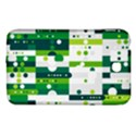Generative Art Experiment Rectangular Circular Shapes Polka Green Vertical Samsung Galaxy Tab 3 (7 ) P3200 Hardshell Case  View1