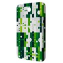 Generative Art Experiment Rectangular Circular Shapes Polka Green Vertical Samsung Galaxy Tab 3 (7 ) P3200 Hardshell Case  View3