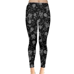 Floral Pattern Leggings  by ValentinaDesign