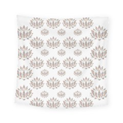 Dot Lotus Flower Flower Floral Square Tapestry (small) by Mariart