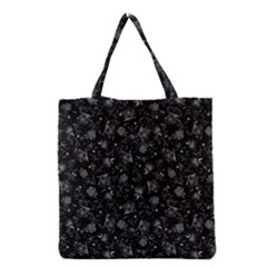 Floral Pattern Grocery Tote Bag by ValentinaDesign