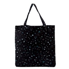 Dots Pattern Grocery Tote Bag by ValentinaDesign