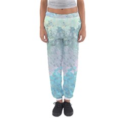 Pastel Garden Women s Jogger Sweatpants by theunrulyartist