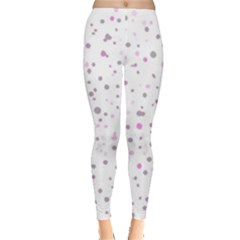Dots Pattern Leggings  by ValentinaDesign