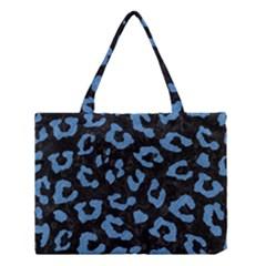 Skin5 Black Marble & Blue Colored Pencil (r) Medium Tote Bag by trendistuff
