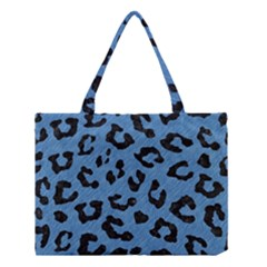 Skin5 Black Marble & Blue Colored Pencil Medium Tote Bag by trendistuff
