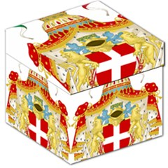 Coat Of Arms Of The Kingdom Of Italy Storage Stool 12   by abbeyz71