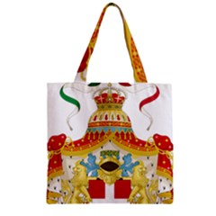 Coat Of Arms Of The Kingdom Of Italy Zipper Grocery Tote Bag by abbeyz71