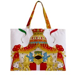 Coat Of Arms Of The Kingdom Of Italy Zipper Mini Tote Bag by abbeyz71
