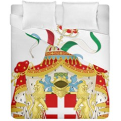Coat Of Arms Of The Kingdom Of Italy Duvet Cover Double Side (california King Size) by abbeyz71