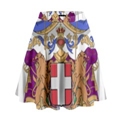 Greater Coat Of Arms Of Italy, 1870 1890 High Waist Skirt by abbeyz71
