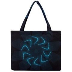 Background Abstract Decorative Mini Tote Bag by Nexatart