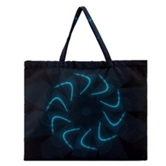 Background Abstract Decorative Zipper Large Tote Bag by Nexatart