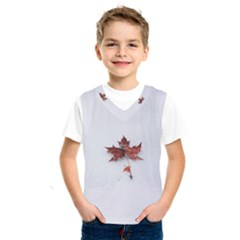 Winter Maple Minimalist Simple Kids  Sportswear