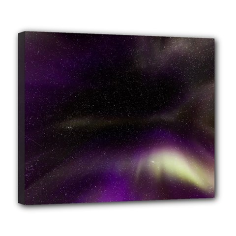 The Northern Lights Nature Deluxe Canvas 24  X 20