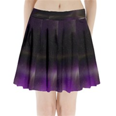 The Northern Lights Nature Pleated Mini Skirt