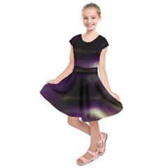 The Northern Lights Nature Kids  Short Sleeve Dress