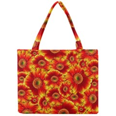 Gerbera Flowers Nature Plant Mini Tote Bag