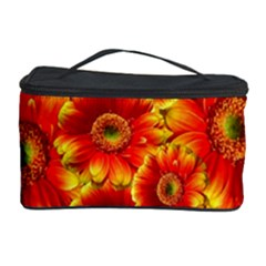 Gerbera Flowers Nature Plant Cosmetic Storage Case by Nexatart