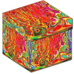 Background Texture Colorful Storage Stool 12   by Nexatart