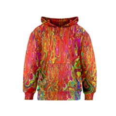 Background Texture Colorful Kids  Pullover Hoodie