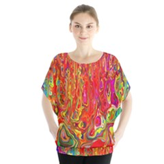 Background Texture Colorful Blouse