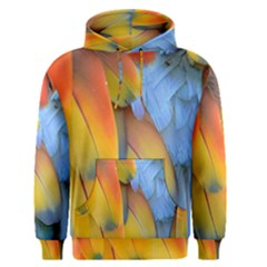 Spring Parrot Parrot Feathers Ara Men s Pullover Hoodie