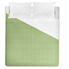Gingham Check Plaid Fabric Pattern Duvet Cover (queen Size) by Nexatart