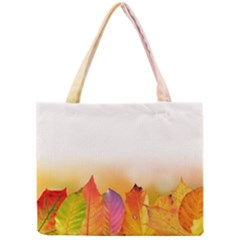 Autumn Leaves Colorful Fall Foliage Mini Tote Bag by Nexatart