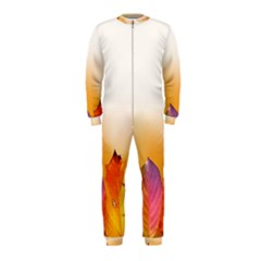 Autumn Leaves Colorful Fall Foliage Onepiece Jumpsuit (kids)