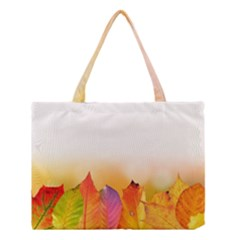 Autumn Leaves Colorful Fall Foliage Medium Tote Bag