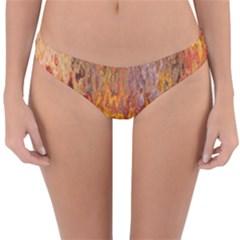 Background Texture Pattern Vintage Reversible Hipster Bikini Bottoms by Nexatart