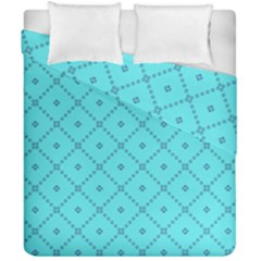Pattern Background Texture Duvet Cover Double Side (california King Size)