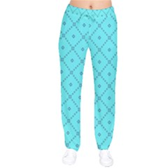 Pattern Background Texture Drawstring Pants