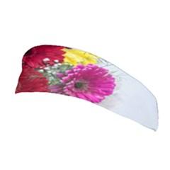 Flowers Gerbera Floral Spring Stretchable Headband