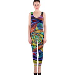 Eye Of The Rainbow Onepiece Catsuit by WolfepawFractals