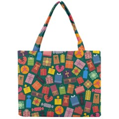 Presents Gifts Background Colorful Mini Tote Bag by Nexatart
