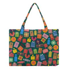 Presents Gifts Background Colorful Medium Tote Bag by Nexatart