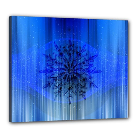Background Christmas Star Canvas 24  X 20